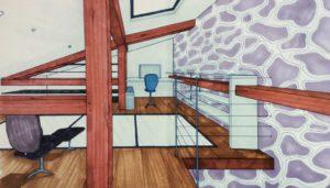 décoration mezzanine