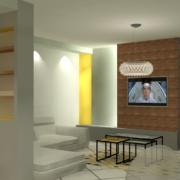 aménagement d'un salon ouvert Marseille