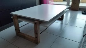 coffee table style scandinave