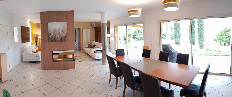 aménagement d'une villa à Aix en Provence