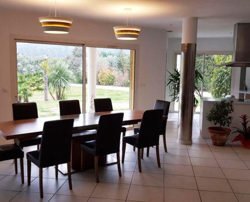 decoration luminaire salle à manger