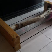 DIY table extra basse