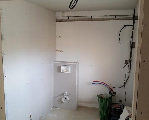 agencement et rénovation de la salle de bain
