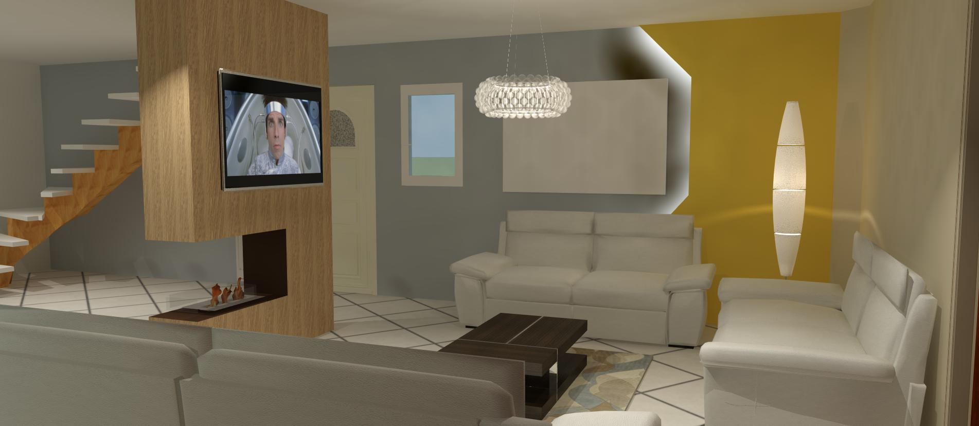 aménagement et décoration salon