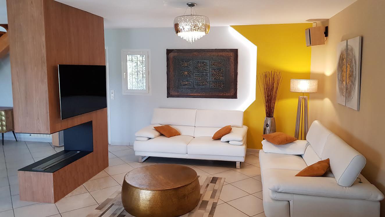 renovation et décoration d'une villa aixoise