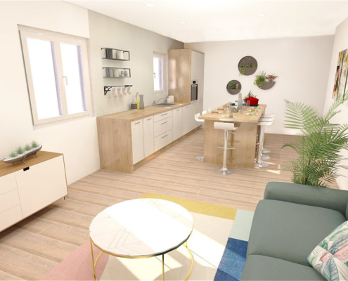 plan appartement Aix en Provence