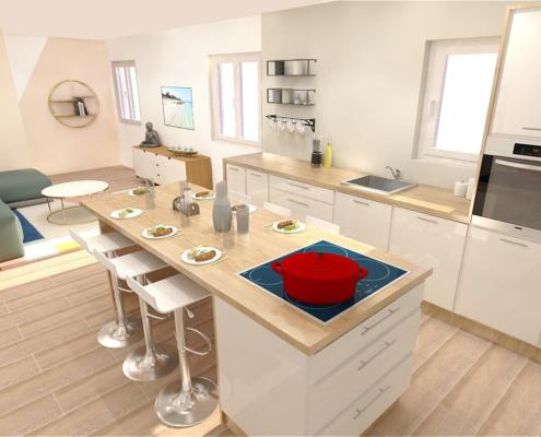 vue 3D réaliste Aix en Provence