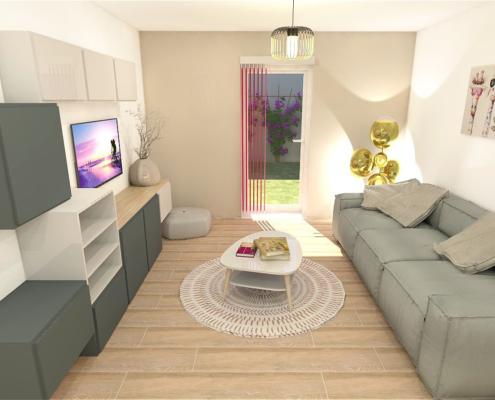 salon moderne décoration