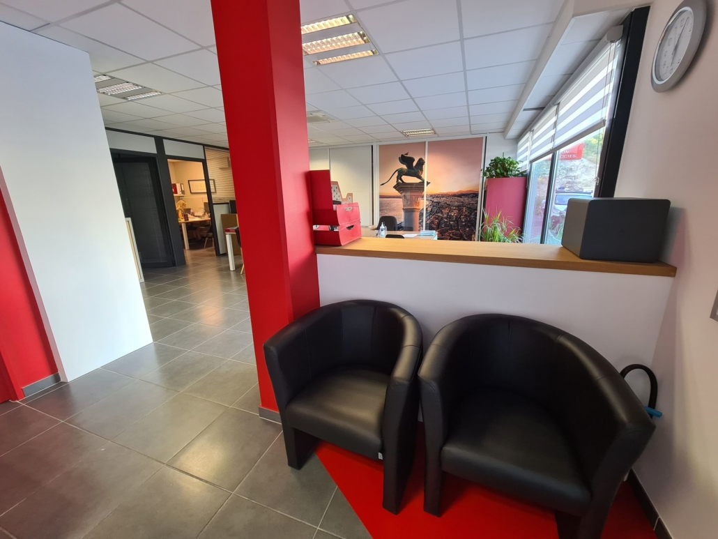 décoration bureaux Générali